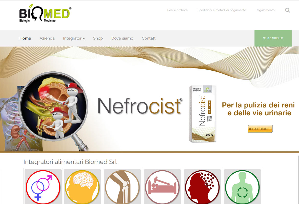 Integratori alimentari BIOMED SRL